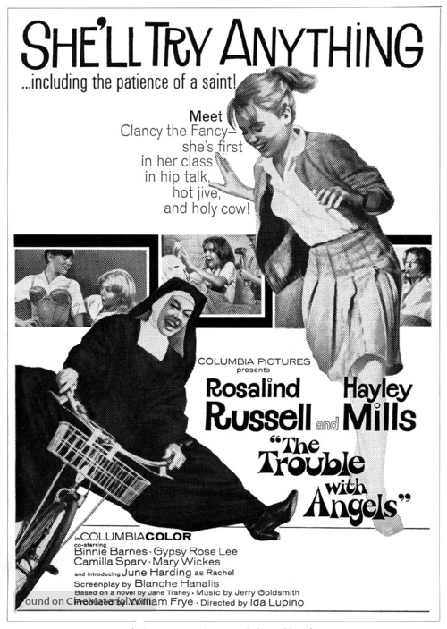 Image result for The TRouble with Angels 1966 posters