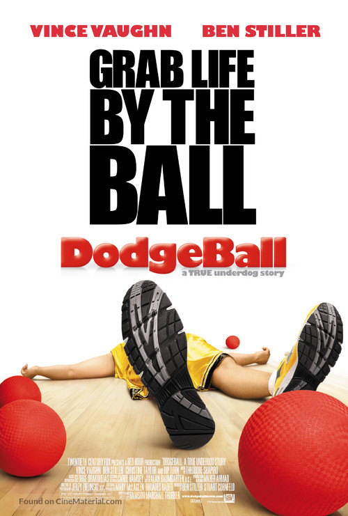 Dodgeball: A True Underdog Story - Theatrical poster