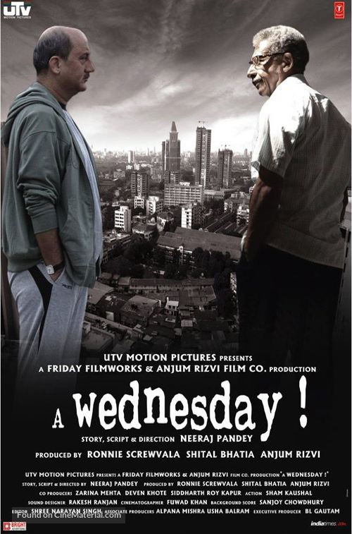 A Wednesday - Indian Movie Poster