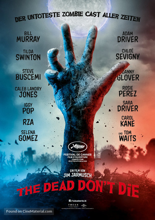 The Dead Don't Die - Swiss Movie Poster