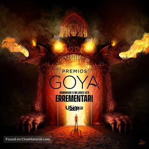 Premios Goya 33 edición - Spanish Movie Poster