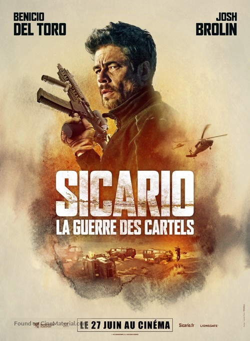 Sicario: Day of the Soldado - French Movie Poster