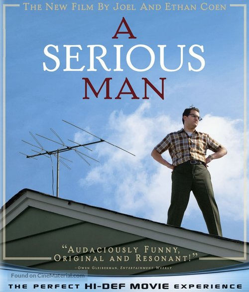 A Serious Man - Blu-Ray movie cover