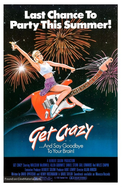 Get Crazy - Movie Poster