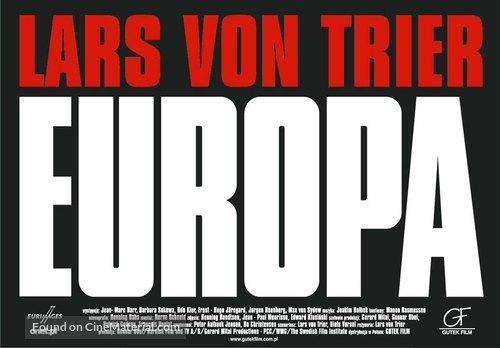 Europa - Polish Movie Poster