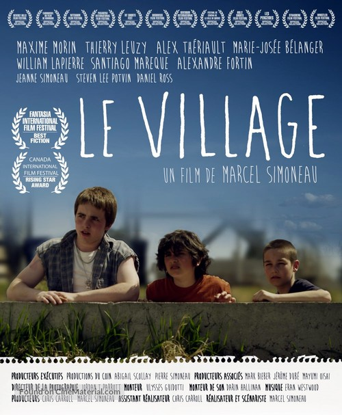 Le Village - Canadian Movie Poster