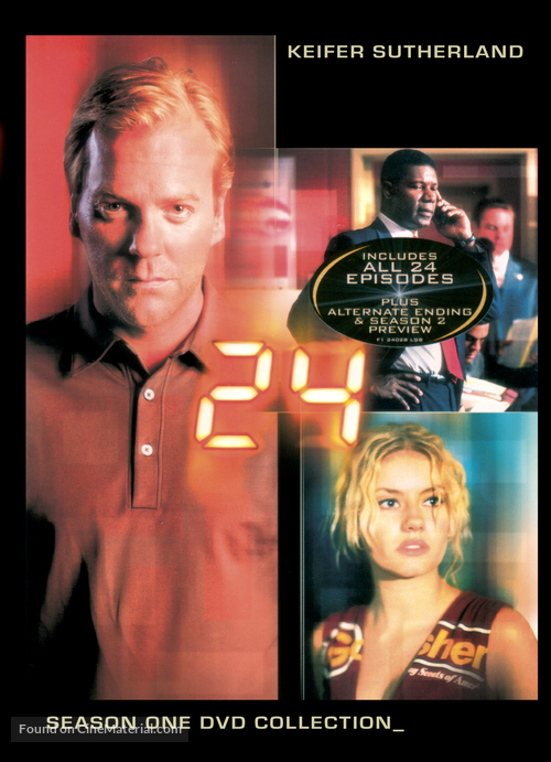 """""""24"""" - DVD cover"""