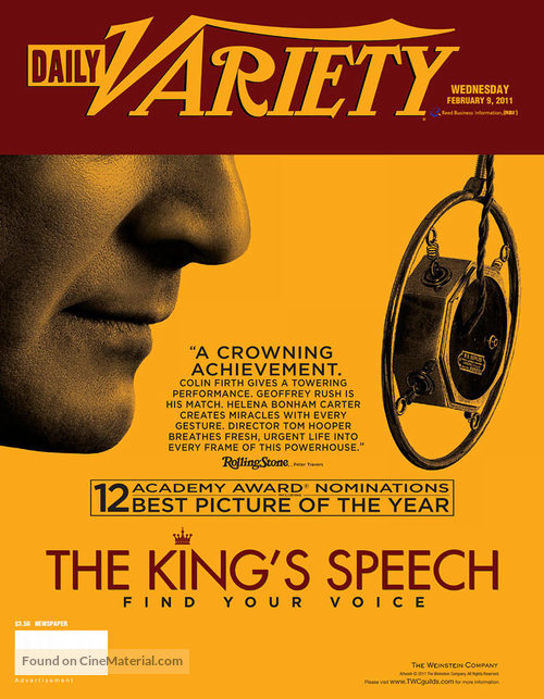 The King's Speech - poster