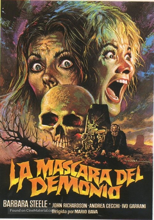 La maschera del demonio - Italian Movie Poster