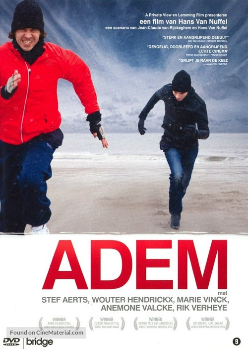 Adem - Dutch DVD cover