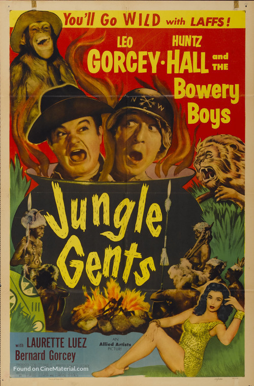 Jungle Gents - Movie Poster