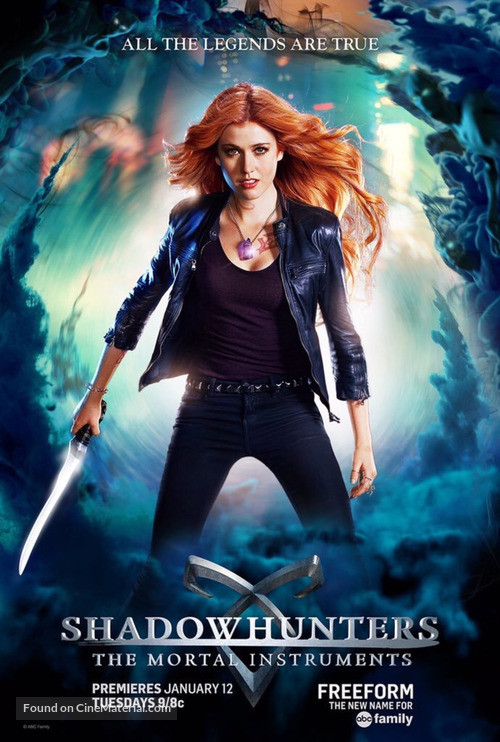 """Shadowhunters"" - Movie Poster"