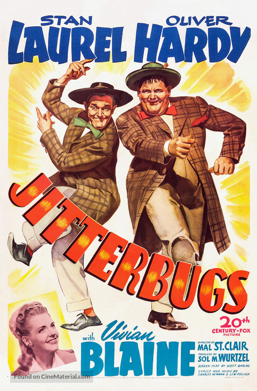 Jitterbugs - Movie Poster