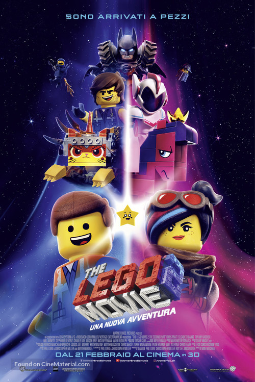 The Lego Movie 2: The Second Part - Swiss Movie Poster