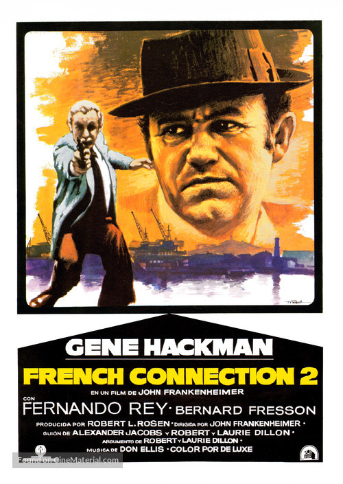 French Connection II - Spanish Movie Poster