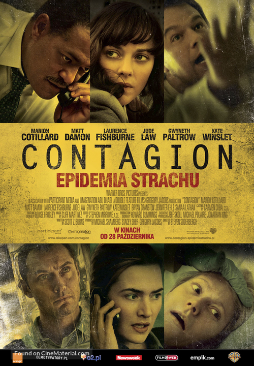 Contagion - Polish Movie Poster