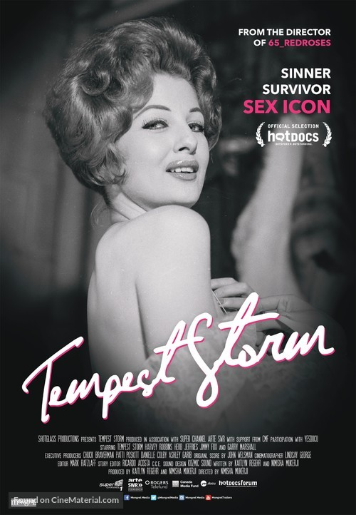 Tempest Storm - Canadian Movie Poster