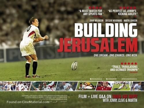 Building Jerusalem - British Movie Poster