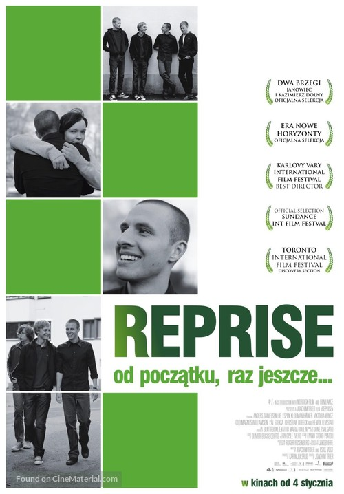 Reprise - Polish poster