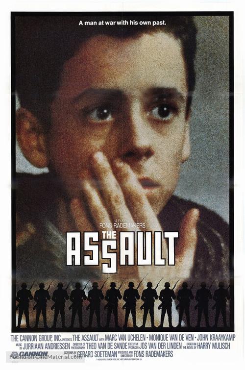 Aanslag, De - Movie Poster