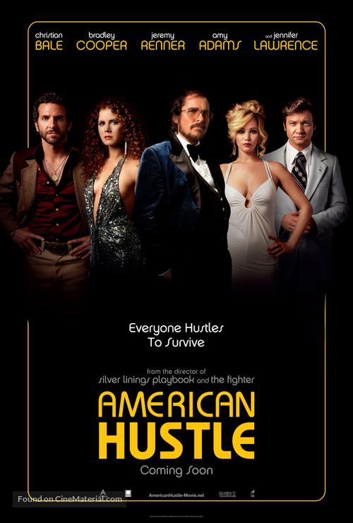 American Hustle - British Movie Poster