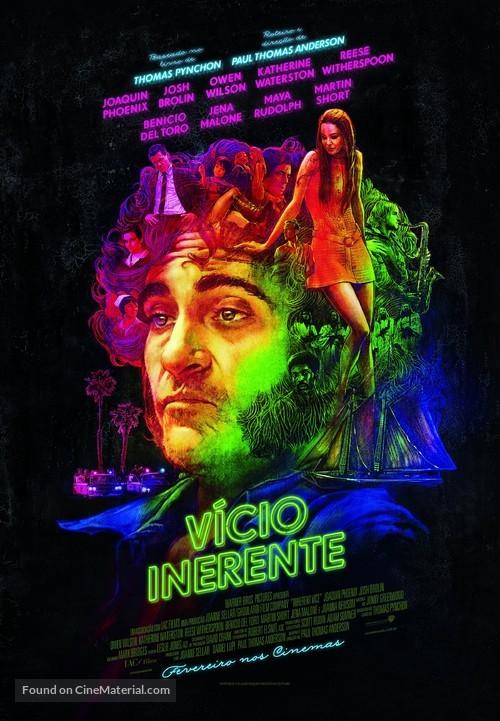 Inherent Vice - Brazilian Movie Poster
