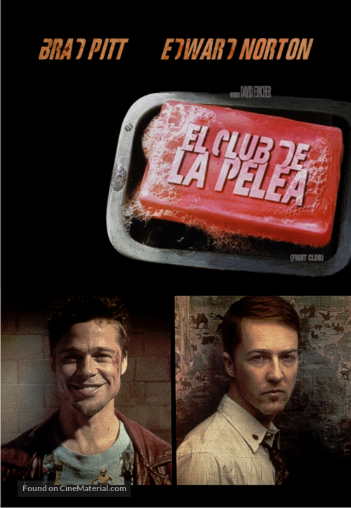 Fight Club - Argentinian DVD movie cover
