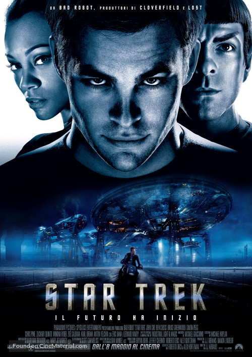 Star Trek - Italian Movie Poster