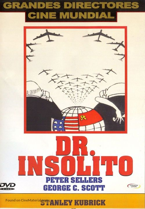 Dr. Strangelove - Chilean Movie Cover