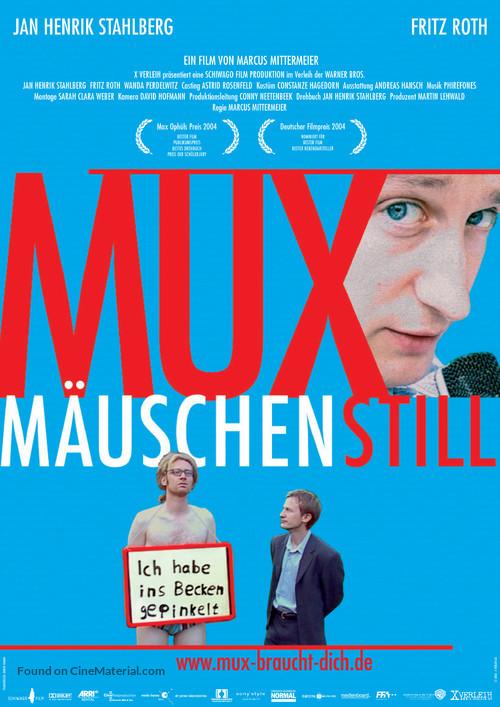 Muxmäuschenstill - German Movie Poster