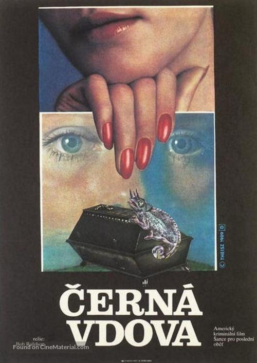 Black Widow - Czech Movie Poster