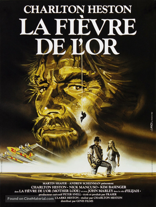 Mother Lode - French Movie Poster