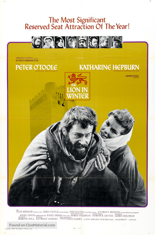 The Lion in Winter - Movie Poster