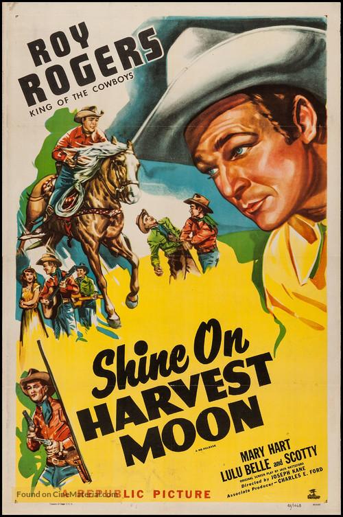 Shine On, Harvest Moon - Movie Poster