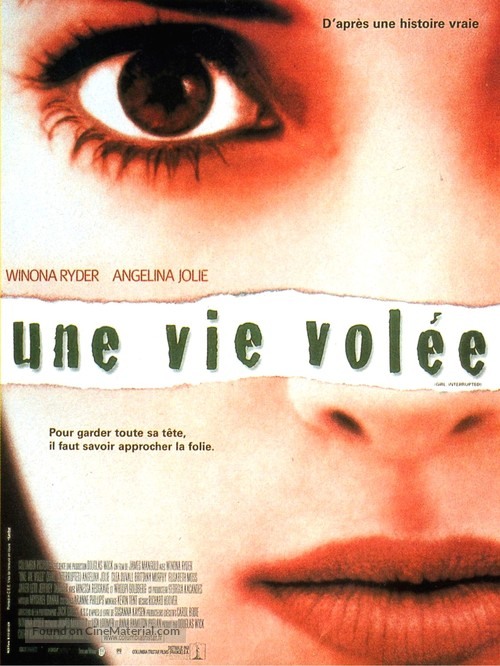 Girl, Interrupted - French Movie Poster
