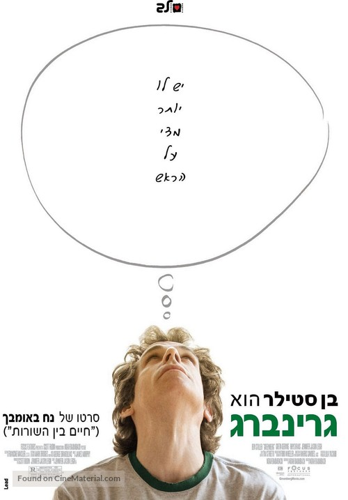 Greenberg - Israeli Movie Poster