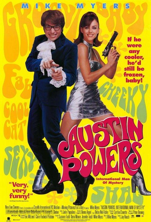 Austin Powers: International Man of Mystery - Movie Poster