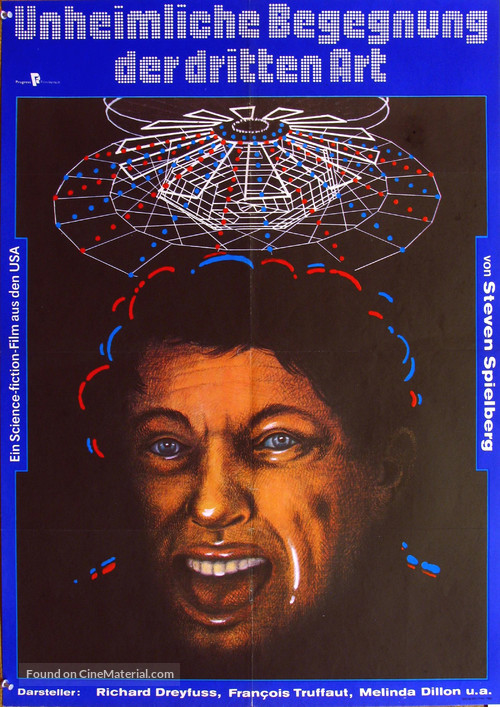 Close Encounters of the Third Kind - German Movie Poster