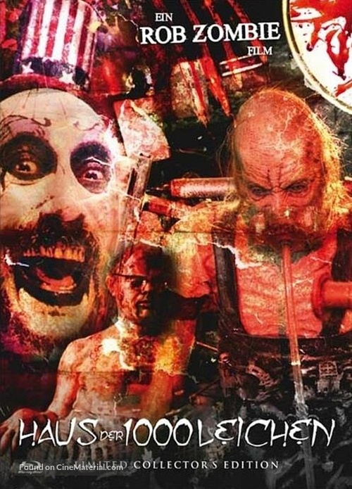 House of 1000 Corpses - Austrian Blu-Ray movie cover