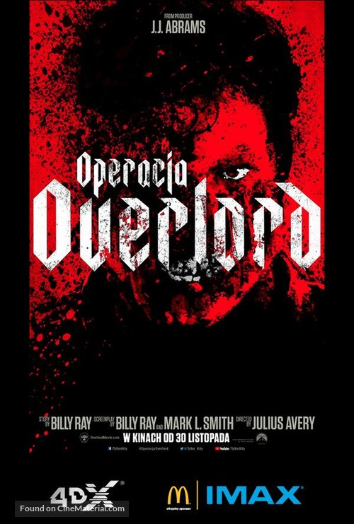 Overlord - Polish Movie Poster