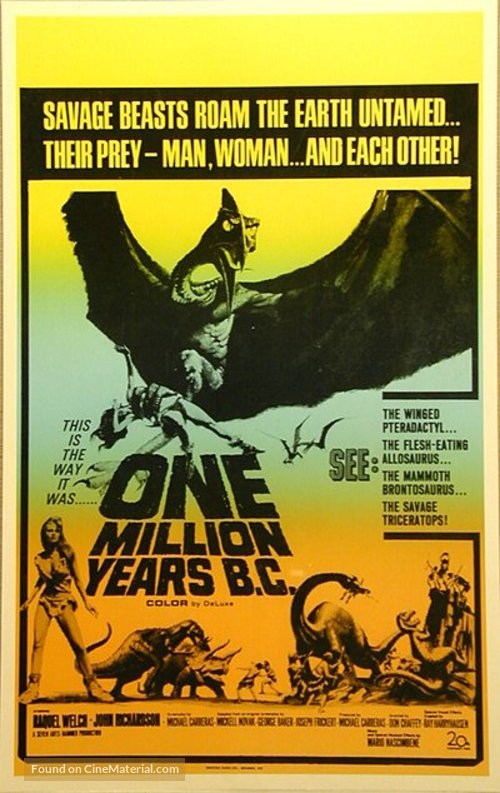 One Million Years B.C. - Movie Poster