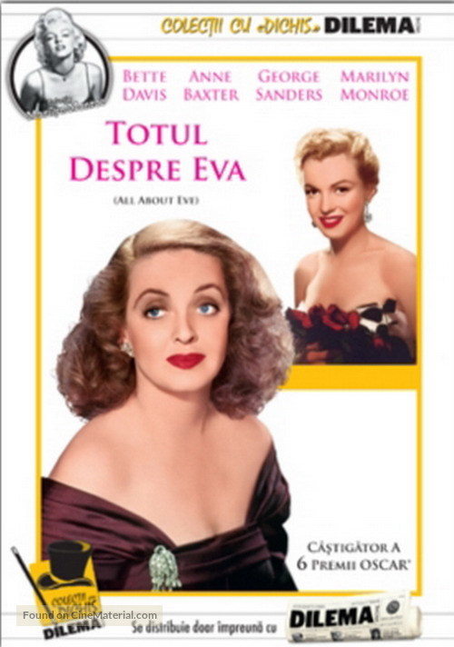 All About Eve - Romanian DVD cover