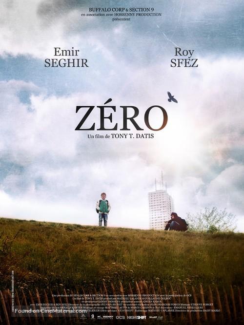 Zéro - French Movie Poster