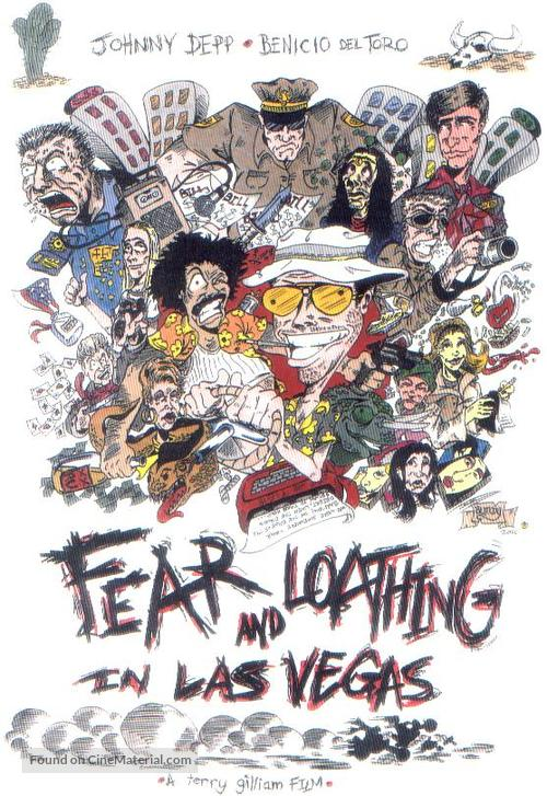 Fear And Loathing In Las Vegas - Movie Poster