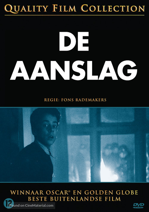 Aanslag, De - Dutch Movie Cover