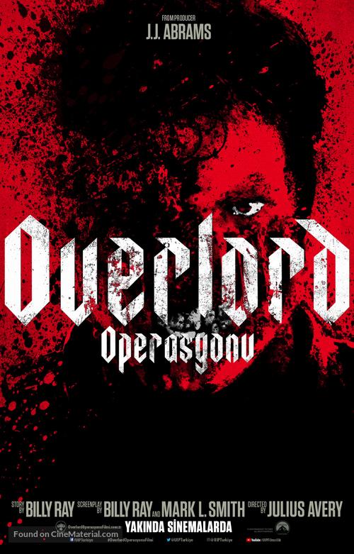 Overlord - Turkish Movie Poster