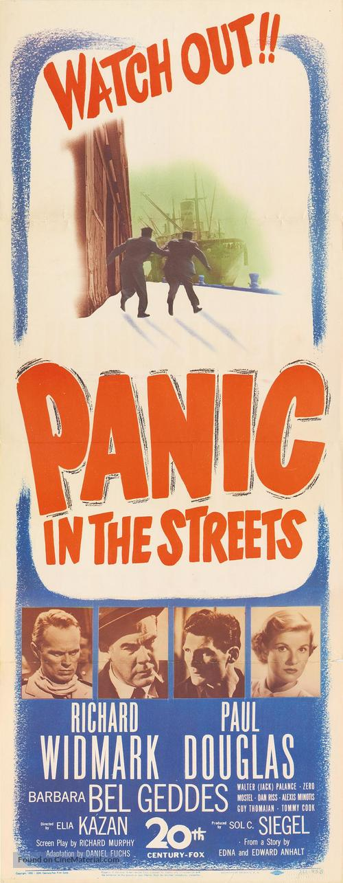 Panic in the Streets - Movie Poster