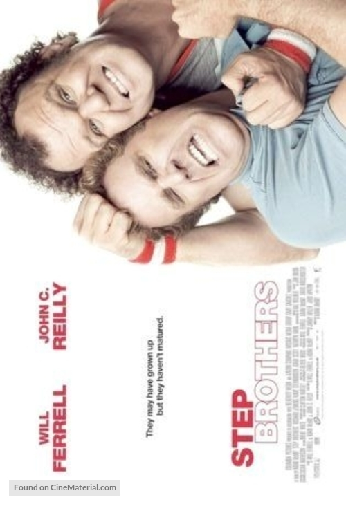Step Brothers - British Movie Poster