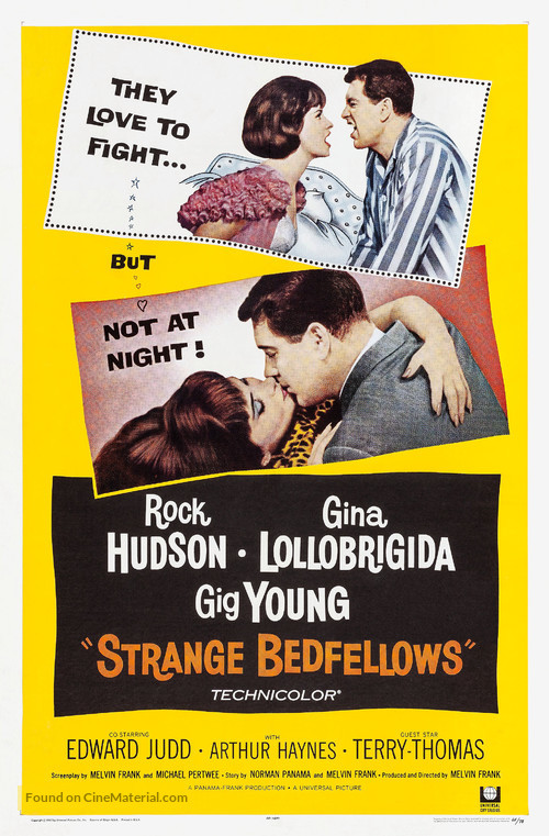 Strange Bedfellows - Movie Poster
