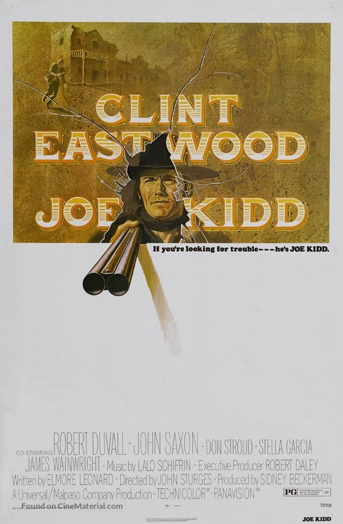 Joe Kidd - Movie Poster